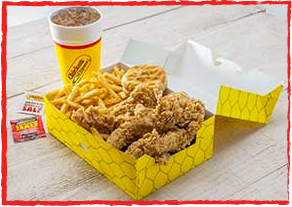 Chicken Express chicken basket